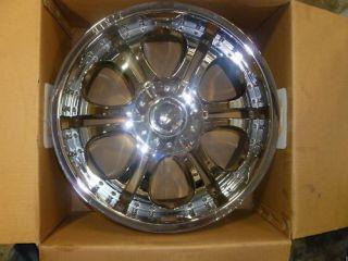 ZINK 20x9 Chrome Wheels 5x150 Range Rover Chrome Rims