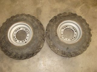 POLARIS TRAIL BOSS TRAILBOSS 330 ATV FRONT WHEELS RIMS TIRES 23X7 10