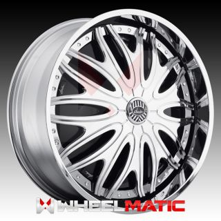 Davin Spinners Sexclusive 28x10 5x120 127 10 Wheels Rims Chrome