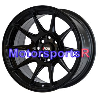 15 15x8 25 XXR 527 Black Wheels Rims Concave 85 Toyota Celica Supra GT