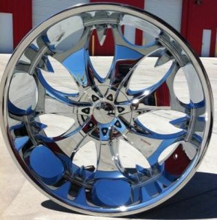 26 INCH PHINO 68 WHEELS RIMS AND TIRES 6X135 NAVIGATOR EXPEDITION FORD