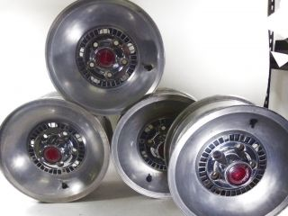 Original Ford 1974 1975 1976 Gran Torino Aluminum Wheels Rims