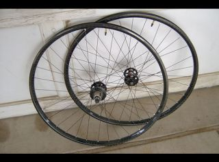 Carbon Wheelset w American Classic Hubs Bike Bicycle MTB Wheels