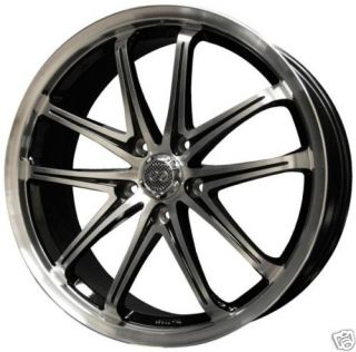 18 Enkei G5 Machine Rims Wheels Audi A4 Quattro A3 S4