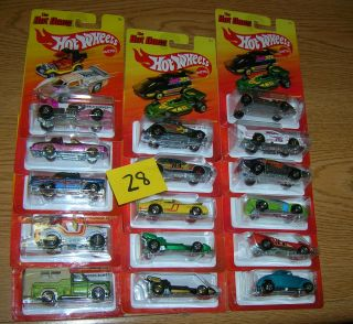 Hot Ones 2011 2012 Lot 28 Hot Wheels Assorted Case Lot Sale 16 Cars