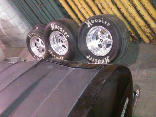weld pro star wheels weld rims hoosier slicks hoosier tires drag