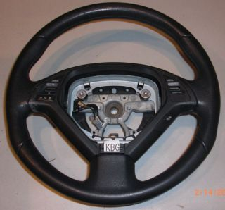 Used Infiniti G35 G37 Steering Wheel Black