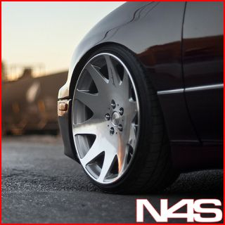 Mustang GT MRR HR3 Silver VIP Concave Staggered Rims Wheels