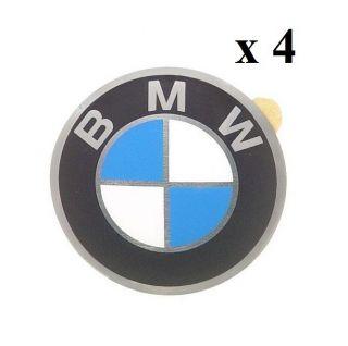 BMW E10 2002 E21 E30 Wheels Center Cap Emblems Set of 4