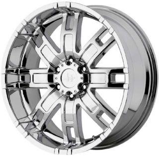 17 inch Helo HE835 Chrome Wheels Rims 8x6 5 Hummer H2