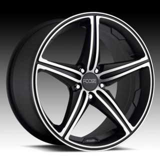 22 Wheels Rims Black FOOSE Speed Camaro M6 S10 Blazer