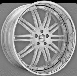 New GFG Laguna 19 Chrome Custom Wheel Rim 5x112