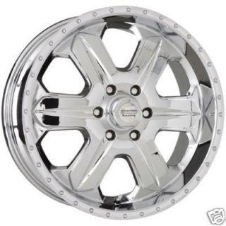 16 Chrome Wheels 6 Lug Rims Silverado Avalanche Titan