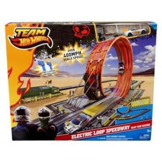 NEW HOT WHEELS ELECTRIC LOOP SPEEDWAY SLOT RALLY CAR RACING RACE TRACK