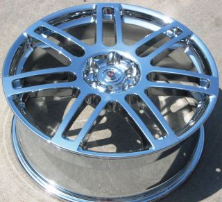 YOUR STOCK 4 NEW 20 FACTORY GM CADILLAC SRX CHROME WHEELS RIMS 06 09