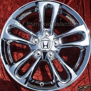 New 17 Honda Civic SI Chrome Wheels Rims Accord Exchange 63901
