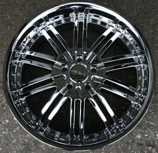 RVM Z08 20 Chrome Rims Wheels Honda Accord 5 Lug