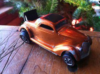 Hot Wheels Redline 1969 Classic 36 Ford Coupe Orange