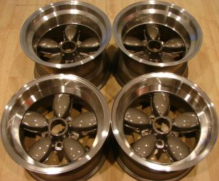American Racing 200S Daisy Mags Rims 5x4 5 Mopar Ford Dodge A