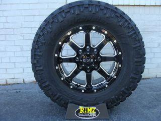 18 Gear Alloy 726MB Wheels 295 70R18 34 5 Nitto Trail Grappler MT