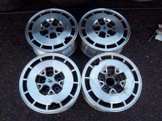 15 86 Nissan 300zx 300Z Wheels Rims Factory 62220