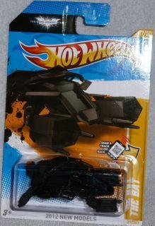 Hot Wheels The Bat Batman The Dark Knight Rises Col 27 Batmobile