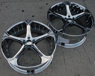 Giovanna Dalar 5V 22 Chrome Rims Wheels Bentley GT