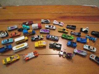 Hot Wheels, Matchbox, & Other Die Cast Car Lot (34 Cars Total) Nascar
