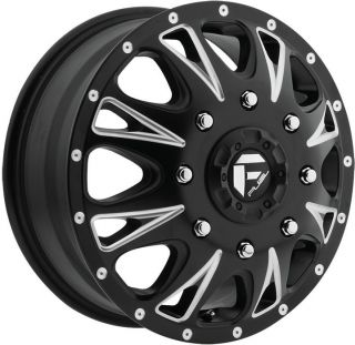 Throttle Dually Dualie Black Wheel Rim 8x6 5 GMC C 3500 C 2500