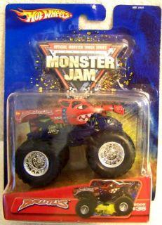 Hot Wheels Monster Jam Truck Retired Brutus 36