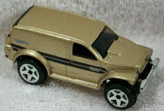 2002 Hot Wheels Diecast Gold Dodge Power Panel 28