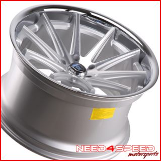525 528 530 540 5 Series Rohana RC10 Concave Silver Wheels Rims