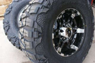 18 inch XD Spy Wheels Rims Nitto Mud Grappler Tires 37