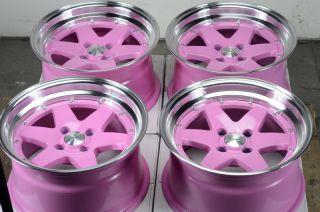 Effect Rims Low Offset Polished Lip Miata Cabrio Alloy Wheels