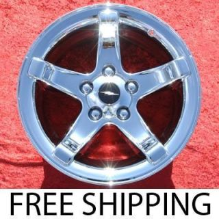 18 F150 Lightning Chrome Factory Wheels Rims Expedition 3401