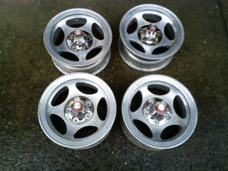 AMC Javelin AMX Gremlin Spirit Hornet Slotted Mag Wheels
