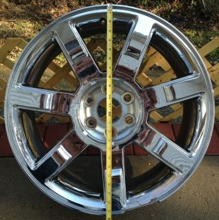 CADILLAC ESCALADE EXT ESV 22 FACTORY OEM WHEEL RIM CHROME Part 9595855