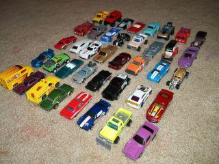 Hot Wheels Mathbox Lot x 40 with Matchbox Lesney 40 Car Collectors