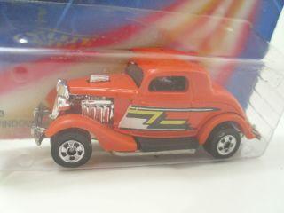 Hot Wheels ZZ Top 3 Window 34 Ford Mint Blisterpack Original