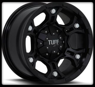T03 Black Rims w 30x9 50x15 BFGoodrich A T TA KO Wheels Tires