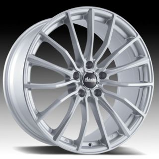 17 Advanti B1 Silver Rims Wheels 17x7 40 4x100 Mini Cooper Civic Fit