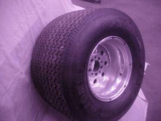 Centerline rims with tires 31x18 50 15 inch Mickey Thompson 28x4 5x15