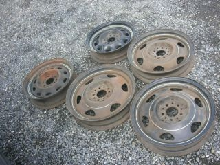 Vintage Ford Chrysler Rat Rod Nastalgic Hot Rod Rims