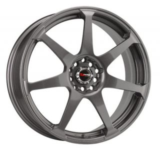 Drag DR33 18 Rims 5 Lugs Gun Metal 45 Offset Wheels