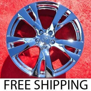 New 20 Infiniti M37 M56 Chrome Factory OEM Wheels Rims G35 Q45 73731