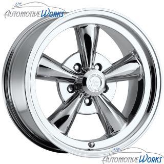 17x9 Vision Legend 5 5x127 5x5 0mm Chrome Wheels Rims inch 17