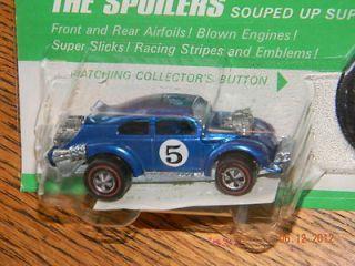 Weevil 1971 Redline in Blister Hot Wheels Original BP Card 71