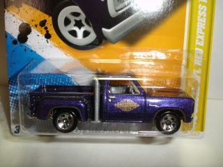 2012 Hot Wheels 1978 Dodge LiL Red Express Pickup HW Premiere 34 Case