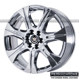 Cadillac SRX 20 Chrome Wheels PVD Exchange