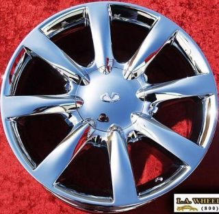 NEW INFINITI M45 18 OEM CHROME WHEELS RIMS G35 Q45 EX35 EXCHANGE 73674